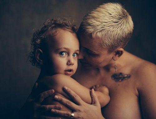 intarcare copil mama